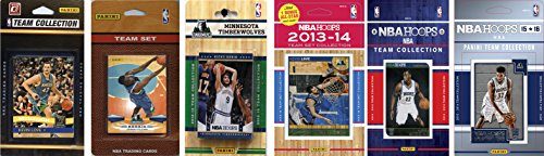 C&I Collectables NBA Minnesota Timberwolves 6 Different Licensed Team Set Trading Card by C&I Collectables