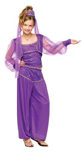 Fun World Dreamy Genie Costume Medium (8-10) Purple]()