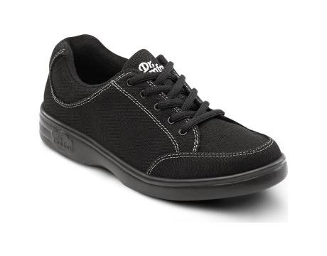 Dr. Comfort Riley Women's Therapeutic Extra Depth Athletic Shoe: Black 9.0 Medium (A-B) Lace