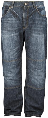 Speed and Strength Mens Run With The Bulls Denim Motorcycle Jeans - 34x32