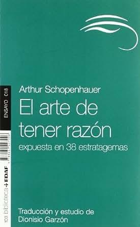 El arte de tener razón (Nueva Biblioteca Edaf nº 15) eBook