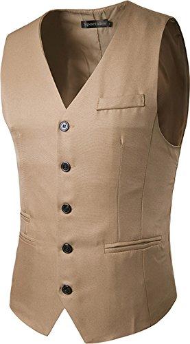 Vest Blazer Men's Jza005 Business Waistcoat Jza003 khaki Suits Sportides Gentleman Gilet Leisure zw8zqx