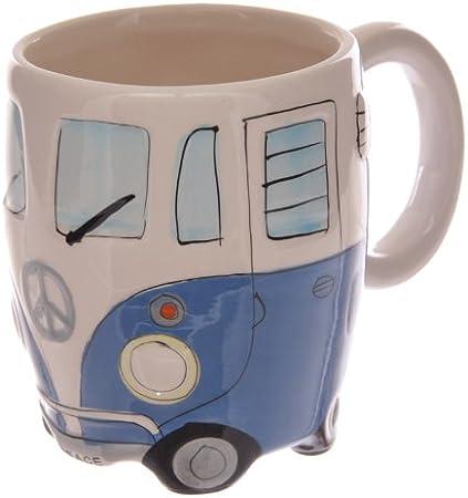 Practical Caravan Man With Van  Novelty Mug