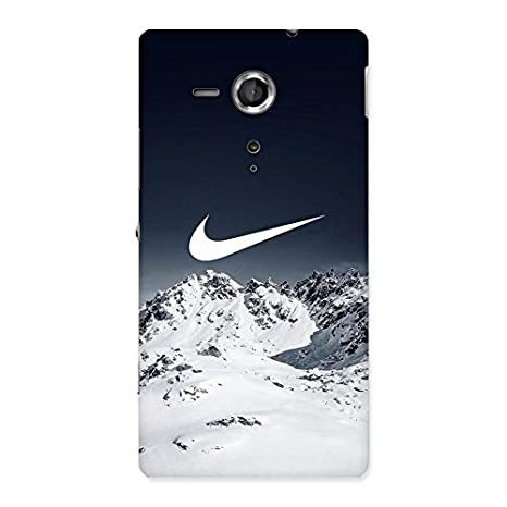 Snow Check Design Back Case Cover for Sony Xperia SP: Amazon in