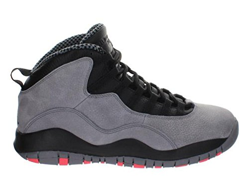 Nike Mens Air Jordan Retro 10 Leather Basketball Shoes