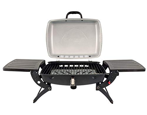 Outwell Roast Gas BBQ with Side table Stove + Grill - Black, One size