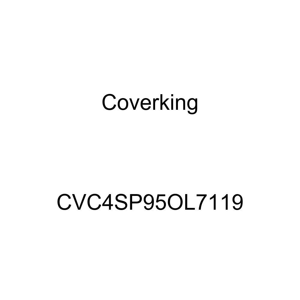 CVC4SP95OL7119 Black Stormproof Coverking Custom Fit Car Cover for Select Oldsmobile Cutlass Supreme Models