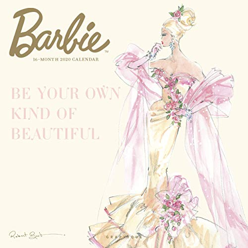 Graphique Classic Barbie Wall Calendar - 16-Month 2020 Calendar, 12