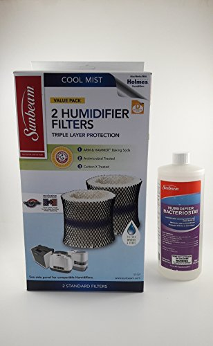 Price comparison product image Sunbeam SF221 Humidifier Filter with Color Check & Humidifier Solution Bundle