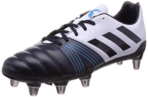 (adidas Kakari SG Rugby Boots, Navy, US 12)