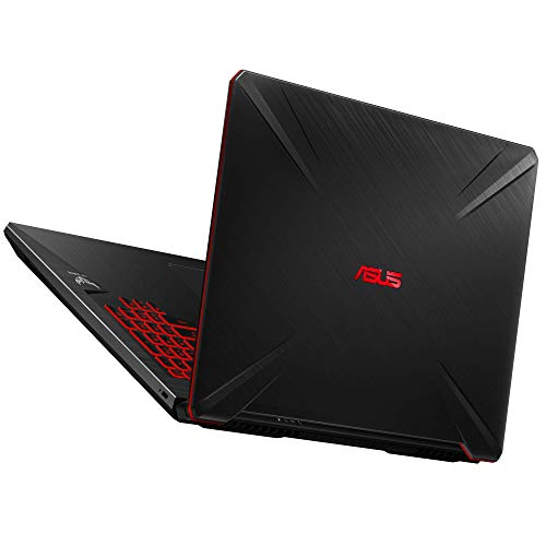 "ASUS TUF Gaming FX705GD-EW106 - Portátil Gaming de 17.3"" FHD (Intel Core i7-8750H, 16 GB RAM, 1 TB HDD + 256GB SSD, NVIDIA GeForce GTX1050 4 GB, Sin Sistema operativo) Negro - Teclado QWERTY Español 7"