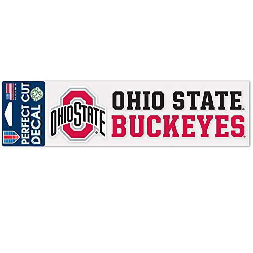 Wincraft NCAA Ohio State University WCR36005014 Perfect Cut Decals, 3