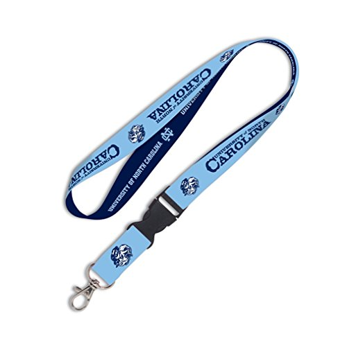 (WinCraft North Carolina Tar Heels Official NCAA 20 inch Lanyard Key Chain Keychain by 545350)