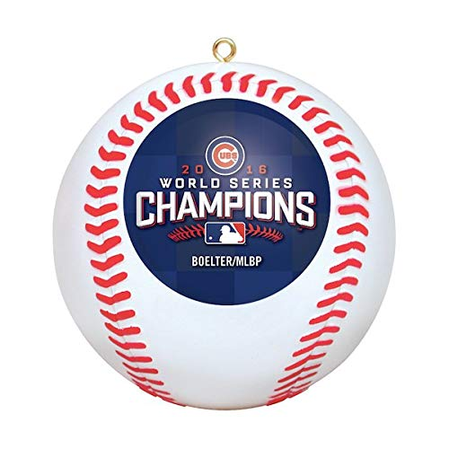 Boelter Chicago Cubs 2016 World Series Champions Ornament
