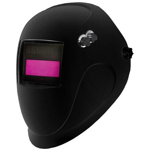 ArcOne 4000V-1100 Shade Master Black Python Welding Helmet