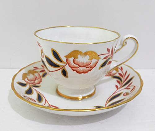 Wedgwood Dynasty Royal Chelsea Cup & Saucer Set of 2