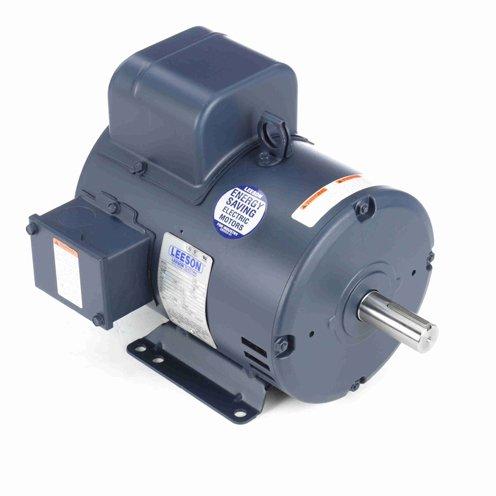 Leeson Electric 131636.00 - General Purpose Motor - 1 ph, 3 hp, 3600 rpm, 115/208-230 V, 182T Frame, Drip Proof Enclosure, 60 Hz, Rigid base Mount