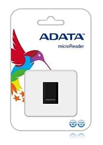 ADATA microReader Ver. 3 Negro - Lector (microSDHC, 480 Mbit/s, 0 - 70 °C, 0 - 90%, Negro, 3 g)