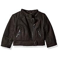 Urban Republic Baby Girls 425gsm Wool Jacket, Black 12M