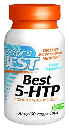 Meilleur Meilleur 5-HTP de médecin (100 mg), capsules végétales, 60-Count
