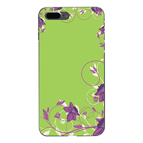 """Disagu Design Case Schutzhülle für Apple iPhone 7 Plus Hülle Cover - Motiv """"Ein Hauch von Frühling-Lila Grün"""""""