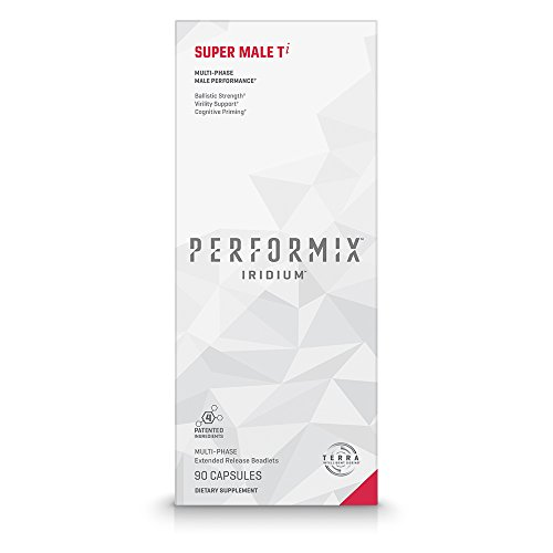 PERFORMIX Iridium Super Male Ti Multi-Phase Male Performance, Ballistic Strength, Virility Support, Cognitive Priming – 90 Capsules