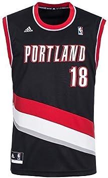 adidas Portland Trail Blazers Camiseta de Baloncesto 18 Claver c59742, NBA Portland Trail bl, 2XS: Amazon.es: Deportes y aire libre
