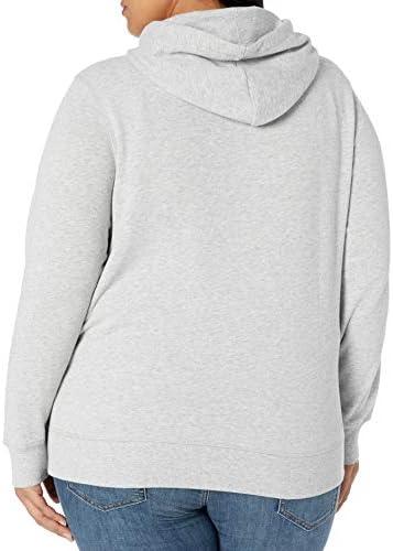 Amazon Essentials Women's Plus Size French Terry Fleece Pullover Hoodie