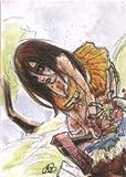 Zombies vs Cheerleaders Platinum Sketch Card by Amber Stone Ver. 2