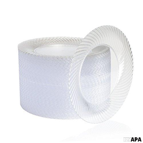 Review 100 Premium Clear Plastic