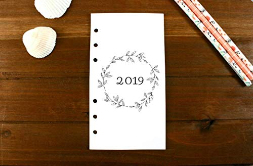 Personal Size 2019 Montly Refills with Notes Dividers, Personal Filofax 2019 Refill Pages, Personal Monthly Refills, Carpe Diem, Color Crush, Kate Spade, Louis Vuitton, Personal 2019 Refills