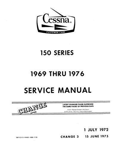 Cessna 150 Series 1969 thru 1976 Service Manual
