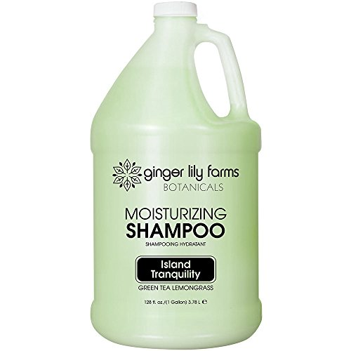Ginger Lily Farms Botanicals Island Tranquility Shampoo Gallon (Lemongrass Moisturizing Shampoo)
