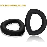 Sennheiser HD700 Earpads, JARMOR Replacement Memory Foam Ear Cushion Pad Cover for Sennheiser HD700 ONLY (Black)