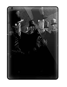 For Ipad Air Tpu Phone Case Cover(tuxes And Top Hats)