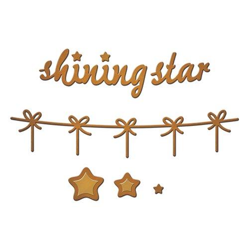 Spellbinders S2-189 Shinning Star Shapeabilites Die D-Lites