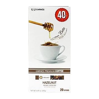 Carnes Premium Instant Coffee Mix with Honey Powder