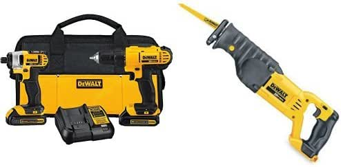 Tool-Only DEWALT DCS380B 20-Volt MAX Lithium-Ion Cordless Reciprocating Saw