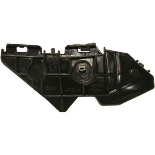 DAT 09-13 TOYOTA COROLLA BLACK REAR BUMPER INNER BRACKET LEFT DRIVER SIDE (Left Rear Bracket)