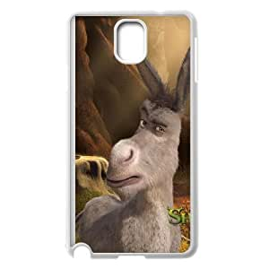 Samsung Galaxy Note 3 Cell Phone Case White Donkey Phone Case Cover Plastic Back CZOIEQWMXN9286