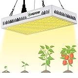 LED Grow Light Full Spectrum 600W,Reflector-Series Plant Grow Lights for Indoor Plants Veg