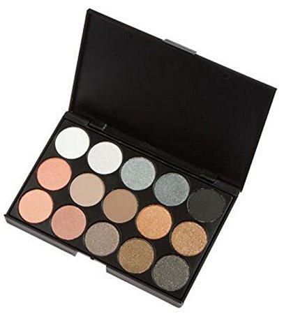 Babysbreath 15 Colori ombretto palette professionale Nudi altamente pigmentati Shimmer naturale lucido Smokey effetto occhi Eye Makeup Plate