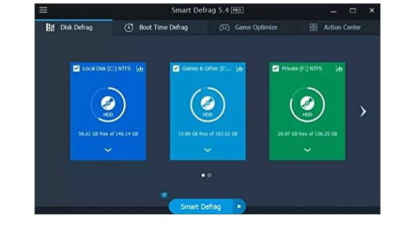 iobit smart defrag review