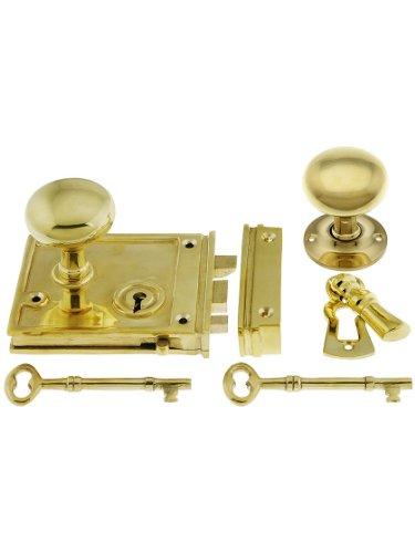 horizontal rim lock set - 6