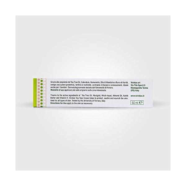 Vividus Crema Dermatologica Tea Tree – 50 ml