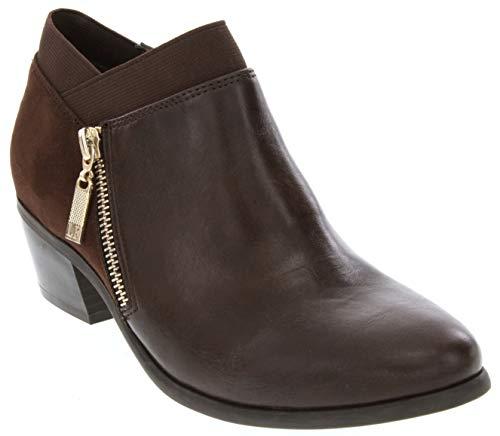 London Fog Smooth Boot Harper Womens Dress Brown 0qxp0Hr