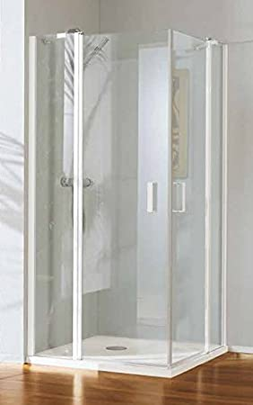Mampara de ducha Polaris Deluxe acceso de ángulo con cristal 6 mm ...