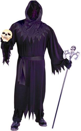 Fun World Men's Unknown Phantom Black, Plus Size up to 6'2