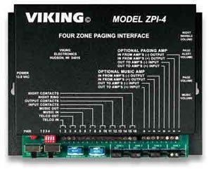 Viking Multi-Zone Paging INterface by Viking