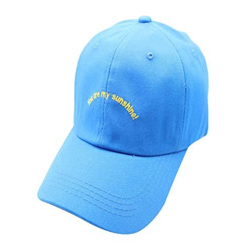 (♛TIANMI Hat for Men'sSummer Casual Mans Cotton Embroidered Baseball Caps AdjustableBeige)